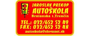 Jaroslav Prekop AUTO�KOLA-Tren��n