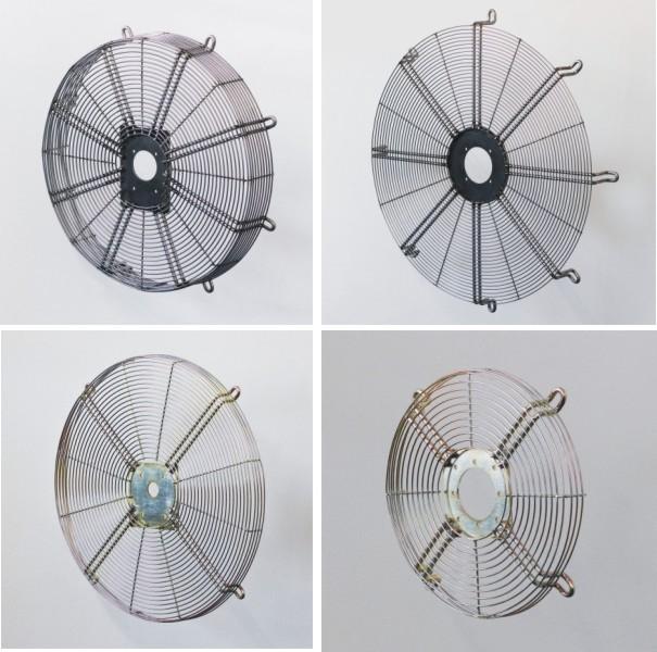 Kryty na ventilátory