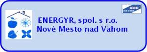 ENERGYR, spol. s r.o.-Nové Mesto nad Váhom