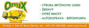 ONYX s.r.o.-Nov� Z�mky